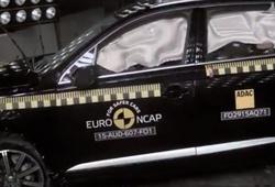 краш-тест Audi Q7 и Volvo XC90