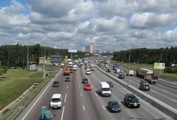 дорога в Москве
