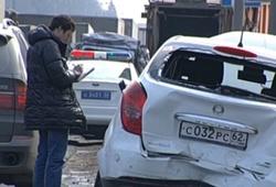 ДТП в Москве с мусоровозом