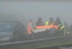 ДТП с участием 150 машин в Нидерландах