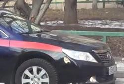 ДТП с участием автомобиля СК РФ
