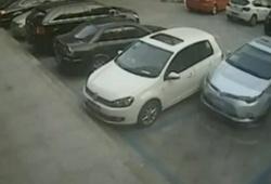 ДТП на парковке в Китае