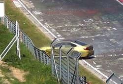 авария на трассе в Нюрбургринге
