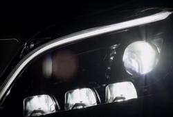 светодиодные фары Mercedes