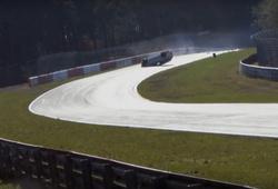 авария Renault Megane RS в Нюрбургринге