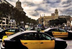 такси в Барселоне
