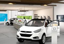 цифровой автосалон Hyundai