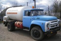 ДТП с цистерной с газом на Минском шоссе